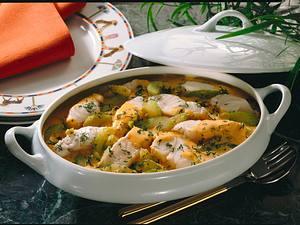 Lengfisch-Ragout Rezept