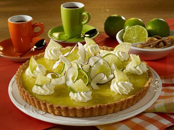 Limetten-Kokos-Pie Rezept