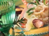 Limettenrisotto mit Meeresfrüchten Rezept