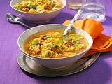 Linsen-Curry-Suppe Rezept