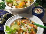 Linsen-Hühnersuppe Rezept