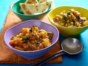 Linsencurry mit Kartoffeln und Möhren Rezept
