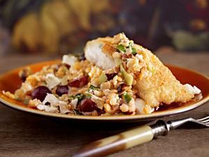 Linsensalat mit Lengfisch Rezept