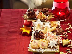 Linzer-Weihnachtsschnecken Rezept