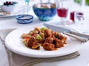 Llomb amb sobrassada (Mallorquinische Schweinelende mit Sobrassada) Rezept