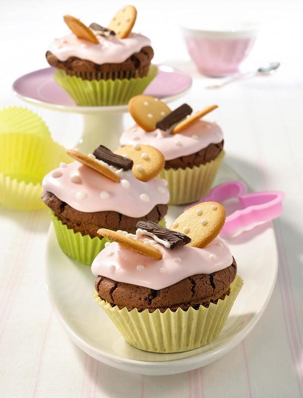 lustige schoko muffins rezept lecker. Black Bedroom Furniture Sets. Home Design Ideas