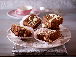 Macadamia-Brownies Rezept