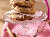 Macadamia-Cookies mit Cranberrys und Zimt-Zucker Rezept