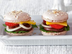 Macaron-Burger Rezept