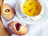 Madeleines à la crème au citron Rezept