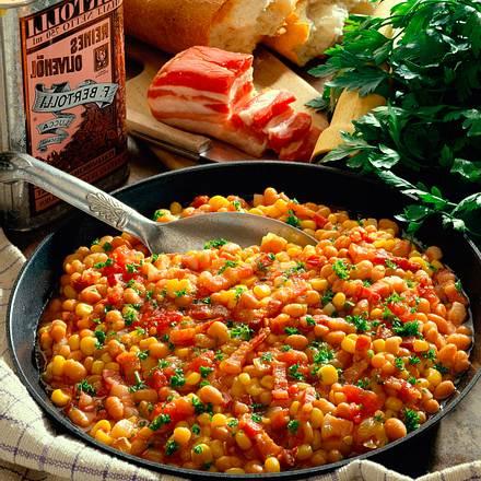 Mais-Bohnen-Pfanne Rezept