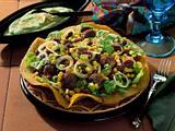 Mais-Bohnen-Salat mit Maisfladen Rezept