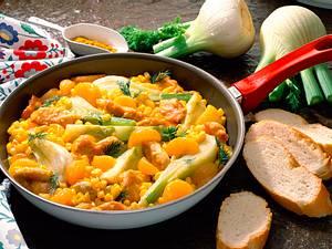 Mais-Schnitzel-Pfanne Rezept