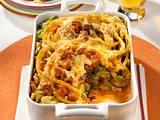 Makkaroni-Auflauf mit Wurst & Fleisch Rezept