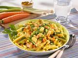 Makkaroni mit Geflügel-Currysoße Rezept