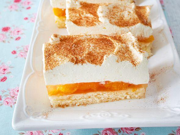 Mandarinen-Schmandschnitten Rezept