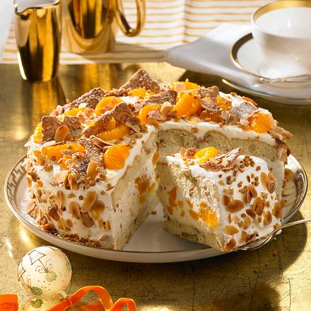 Mandarinen-Spekulatius-Torte Rezept