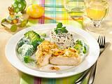 Mandel-Hähnchen mit Broccoli Rezept