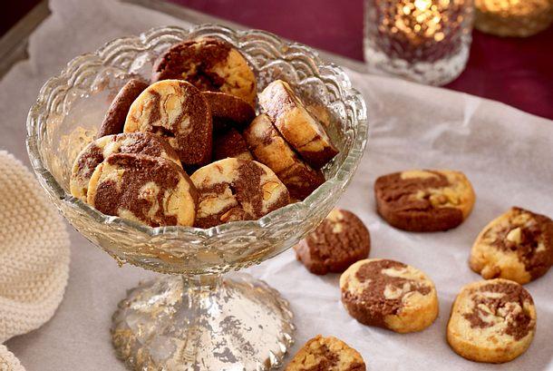 Mandel-Marmor-Kekse Rezept