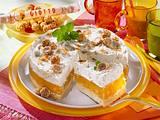 Mandel-Pfirsich-Torte Rezept