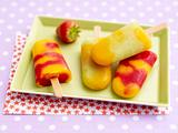 Mango-Erdbeer-Eis Rezept
