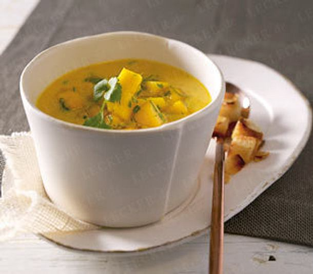 Mango-Möhren-Suppe Rezept