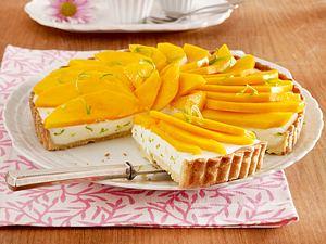 Mango-Tarte mit Joghurt-Limettencreme Rezept