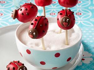 Marienkäfer Cake-Pops Rezept