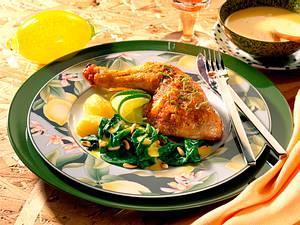 Marinierte Hähnchenschenkel Rezept