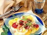 Marinierte Kartoffeln mit roter Bete Rezept