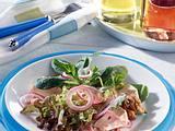 Marinierter Camembert auf winterlichem Salat Rezept