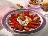Mariniertes Erdbeer-Carpaccio Rezept