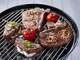 Mariniertes T-bone-Steak mit Kräuterbutter Rezept