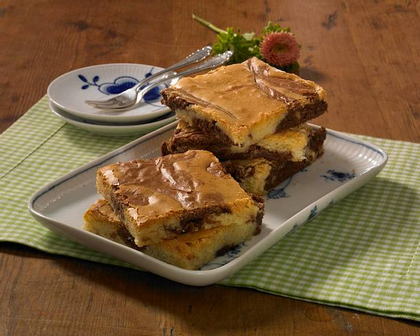 Marmor-Brownies Rezept