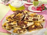 Marmor-Käsekuchen mit Kirschen Rezept