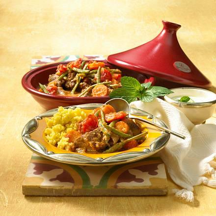 marokkanische tajine mit couscous rezept lecker. Black Bedroom Furniture Sets. Home Design Ideas