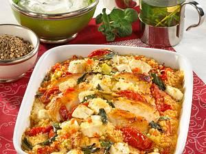 Marokkanischer Couscous-Auflauf Rezept