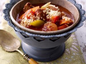 Marokkanischer Gemüse-Rindertopf Rezept