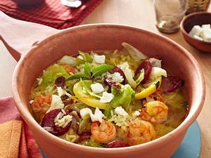 Marokkanischer Reistopf mit Garnelen Rezept