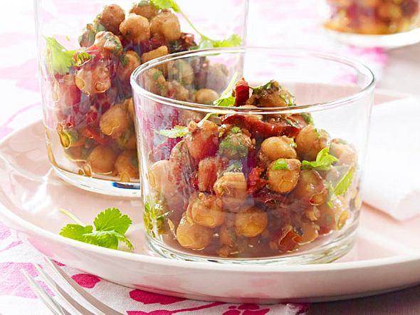 Marokkanischer Salat mit Kichererbsen Rezept