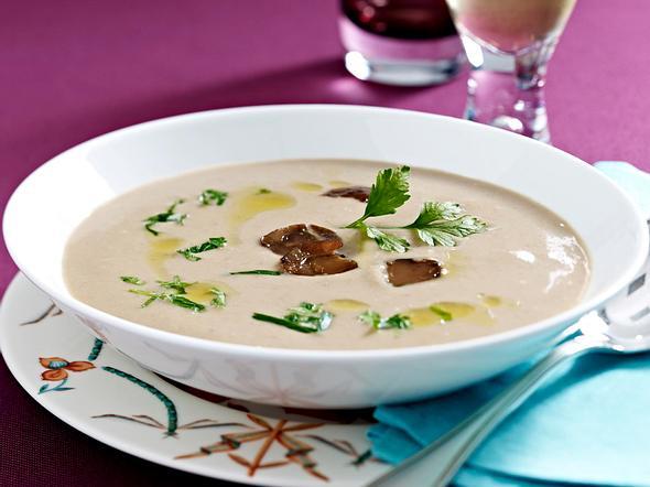 Maronen-Sellerie-Suppe Rezept