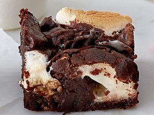 Marshmallow-Brownie Rezept