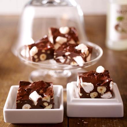 Marshmallow-Konfekt (Fudge) Rezept