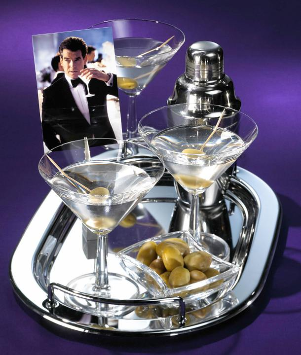 Martini cocktail james bond rezept lecker for Cocktail 007 bond