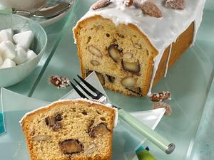 Marzipan-Kastenkuchen mit Mandeln Rezept