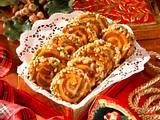 Marzipan-Lebkuchen-Schnecken Rezept
