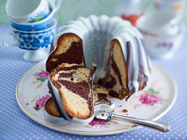 Marzipan-Marmorkuchen Rezept