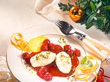 Marzipan-Mousse mit Kirschkompott Rezept