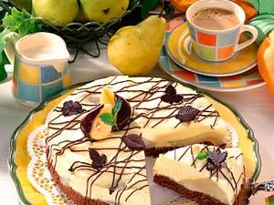 Mascarpone-Torte Birne Helene Rezept