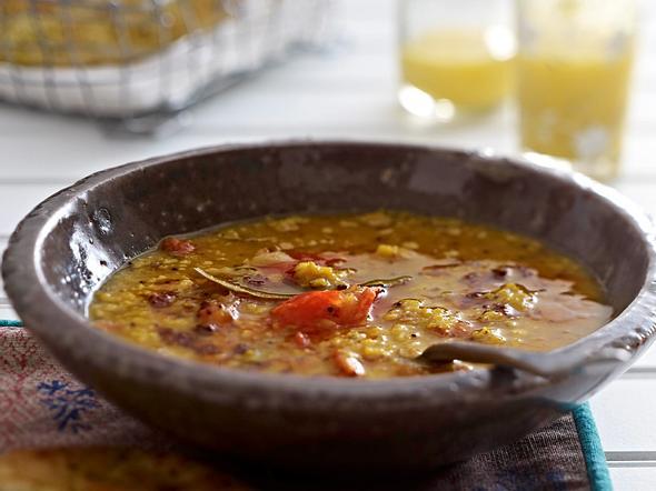 Masur Dal (Roter Linsentopf) Rezept